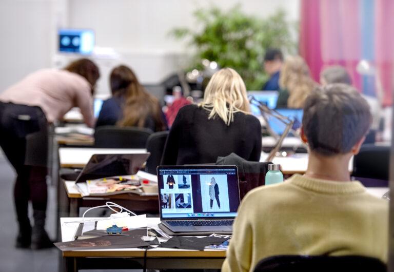 Bild på utbildningsmiljö Nordiska Textilakademin